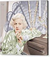 Bombshell, Jean Harlow, 1933 Acrylic Print