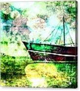 Bon Voyage Acrylic Print by Ankeeta Bansal