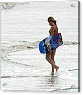 Boogie Board 0669b Acrylic Print