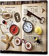 Book Of Mystery Acrylic Print by Garry Gay