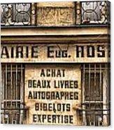 Book Seller Provence Acrylic Print