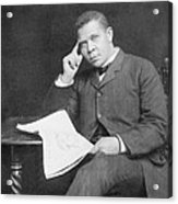 Booker T. Washington 1856-1915, African Acrylic Print
