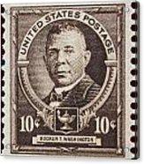 Booker T Washington Postage Stamp Acrylic Print