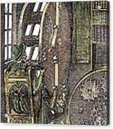 Bookwheel, 1588 Acrylic Print