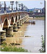 Bordeaux Bridge Acrylic Print