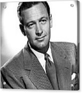 Born Yesterday, William Holden, 1950 Acrylic Print by Everett