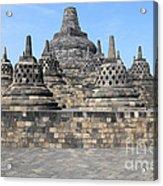 Borobudur Mahayana Buddhist Monument Acrylic Print
