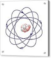 Boron, Atomic Model Acrylic Print