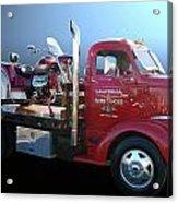 Boss Hoss Truck Acrylic Print