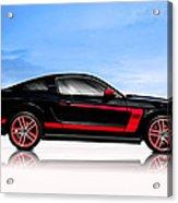 Boss Mustang Acrylic Print