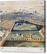 Boston, 1850 Acrylic Print