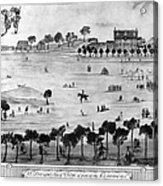 Boston Common, 1768 Acrylic Print