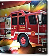 Boston Engine 37 Acrylic Print