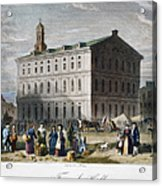 Boston: Faneuil Hall, 1776 Acrylic Print
