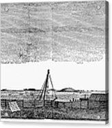 Boston Harbor, 1776 Acrylic Print