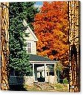 Boston Home Fall 1982 Acrylic Print