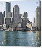 Boston Skyline Acrylic Print