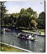 Boston: Swan Boats, C1900 Acrylic Print