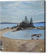 Boswell's Point-lake Superior Acrylic Print