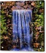 Botanical Garden Falls Acrylic Print