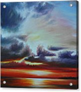 Botany Bay Sunrise Acrylic Print