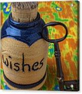 Bottle Of Wishes Acrylic Print