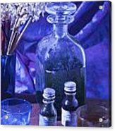 Bottles Of Perfume Essence  Acrylic Print