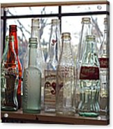 Bottles On The Shelf Acrylic Print
