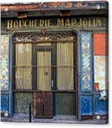 Boucherie Marjolin Acrylic Print
