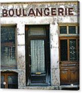 Boulangerie Acrylic Print by Georgia Fowler