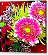 Bouquet De La  Passion Acrylic Print