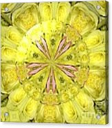 Bouquet Of Roses Kaleidoscope 12 Acrylic Print