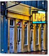 Bourbon Live - French Quarter Acrylic Print