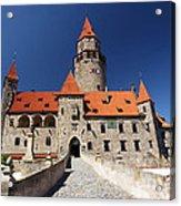 Bouzov Castle Acrylic Print