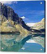 Bow Lake,alberta,canada Acrylic Print