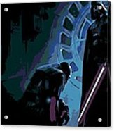 Bow To The Dark Side Acrylic Print