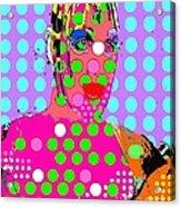 Bowery Acrylic Print by Ricky Sencion