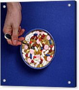 Bowl Of Pills Acrylic Print