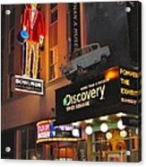 Bowlmor Lanes At Times Square Acrylic Print