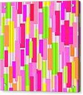 Boxed Stripe Acrylic Print