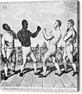 Boxing: Cribb V. Molineaux Acrylic Print by Granger