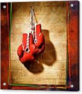 Boxing Acrylic Print
