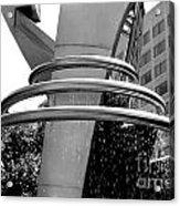 Boyd Plaza Fountain IIi Acrylic Print