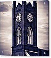 Boyertown Clock Tower Acrylic Print