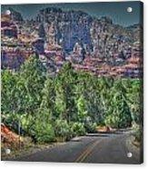 Boynton Canyon Colors Acrylic Print