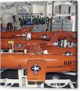 Bqm-74e Chukar Target Drones Stowed Acrylic Print