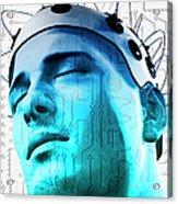 Brain Circuit Acrylic Print by MedicalRF.com