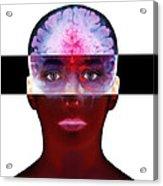 Brain Scan Acrylic Print