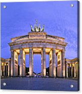 Brandenburger Tor Berlin Acrylic Print