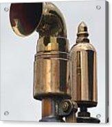 Brass Horn Acrylic Print